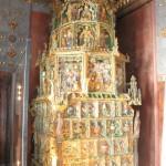Stove in Golden Room